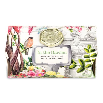 IN THE GARDEN LARGE BATH SOAP - $9.95
