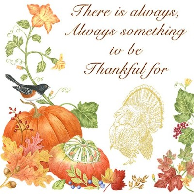 THANKFUL FLOUR SACK TOWELS - $19.95
